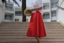 La jupe rouge de Flo