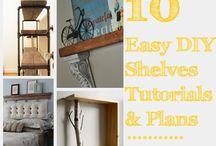 Shelves DIY / by Jancy