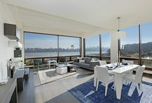 High-end living by LAZZONI at The Pearl, NJ / With contemporary vision and unique and functional designs, LAZZONI transformed a number of flats in the prestigious The Pearl – a boutique collection of waterfront homes in New Jersey.  This recently renovated building on the Hudson River features floor to ceiling windows offering breathtaking views of the city and tons of natural sunlight.