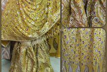 Haldi Gharara / Beautiful mustard Gharara with zari work all over dupatta and fine quality stones all over Gharara