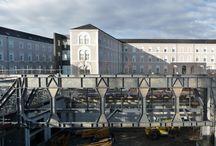 CHU Angers / dernières photos de ce chantier de restructuration lourde de l'Hôtel Dieu Nord du CHU d'Angers