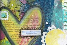 Journal Pages (Heart) / by Vintage Mouse