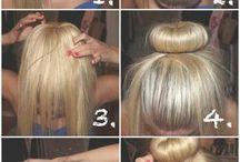 donut hår
