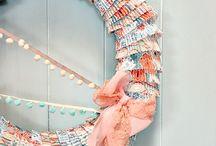Crafts: Wreaths / by Stephanie Wenner