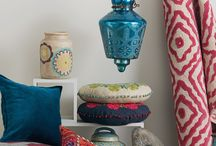 Boho Bungalow / Part Hippie, part Bohemian, but always chic, these rooms combine classic pieces with natural textures, accentuated with quirky accessories and colorful art.
