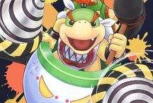 Bowser Jr. and other characters