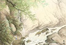 Japanese art painting  2 / Japanese painting by Vyacheslav Sinkevich