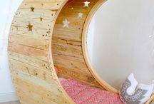 inspiracje pokoi dziecięcych / inspirujące wnętrza dla dzieci