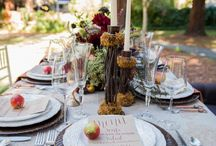 Woodland Wedding / Inspirations and ideas for a natural, rustic woodland wedding.