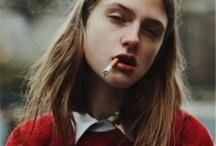 Woman & Cigarette