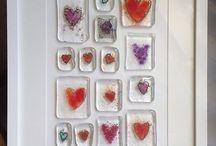 fussed glass & ceramic ideas