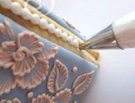 Zdobenie tort maľovaním