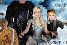 Game of Thrones Christmas cards / Family Photo Portrait Christmas cards, Photoshopped Christmas cards, Unique family Christmas cards. You supply the photos and I will expertly drop them onto the characters.