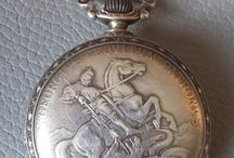 Urania silver pocket watch S.Georgius