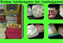 #realnappyweek blog posts / Blog posts documenting our trial of a range of different cloth nappies and training pants