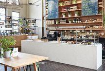 Shop, bakery, café and office