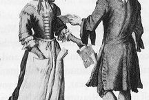 XVIIe - Costumes modestes