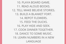 Things to do as a family