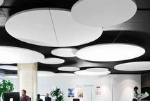 acoustic ceilings and walls