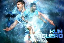 "Sergio Agüero / Sergio Leonel ""Kun"" Agüero is an Argentine professional footballer who plays as a striker for Premier League club Manchester City.  Born: 2 June 1988 (age 29), Buenos Aires, Argentina Height: 1.73 m Spouse: Giannina Maradona (m. 2008–2013) Salary: 11.44 million GBP (2015) Siblings: Gastón del Castillo, Mauritius Del Castillo Agüero, MORE Current teams: Manchester City F.C. (#10 / Forward), Argentina national football team (#11 / Forward)"