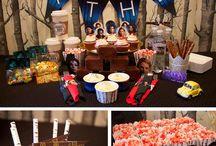 """Once Upon a Time Party / Throw a Once Upon a Time party based on the hit television show with all the printables you need for favors, invitations, banners, cupcakes and more featuring your favorite characters, Emma Swan, Snow White, Henry, Regina """"The Evil Queen"""", Belle, Hook and Rumplestiltskin. / by chicaandjo"""