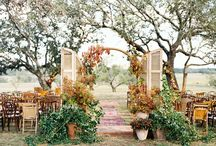 Harvest Moon Wedding Inspiration / Fall wedding celebrations with a mix of warm colors mimicking the changing leaves and cool jewel tones of the autumn sunset. #weddings #autumn #fallcolors / by NST Pictures Wedding Cinematography