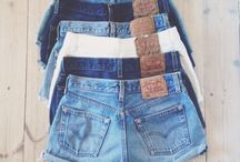 BLUE JEAN // DENIM / Fashion victim with blue jeans and denim