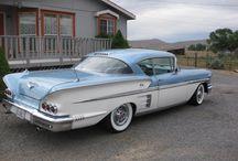 1958-1963 Chevrolet / by Tom Dillion