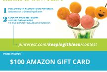 CONTEST / DDW and Keeping It Kleen announce a Pinterest Recipe #Contest. Follow pinterest.com/ddwcolor and pinterest.com/keepingitkleen for details!