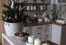 kuchyň vanoce