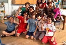 Atelie 5º ano E 2014 / Esse painel apresenta as produções dos alunos realizadas nas aulas de ateliê do 5º ano E da Escola da Vila em 2014.