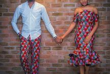 African wedding outfit ideas