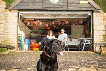 Wedding dogs, mans best friend / Dogs at weddings taken by seb & Dave http://www.lewisandschofield.com/