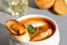 Essen / Fischsuppe