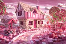 Surreal Landscapes Made from Food: Candy Cottage ...carl warner