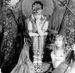 """The Lost Cleopatra (1917) / """"Cleopatra"""" starring the exotic and hypnotic Theda Bara survives on in fragments - and these racy publicity stills from the production."""