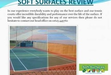 Coating for MUGAs & Tennis Courts Sports Surfaces