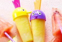 IJsjes / ☀ Op een warme dag is niets lekkerder dan een heerlijk zelfgemaakt ijsje! Probeer een van deze recepten en geniet van het heerlijke weer ☀