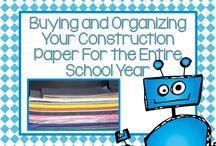 School organization / by Robin Hinesley-Smith