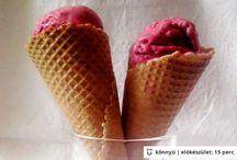 Fagylaltok házilag