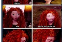 the big four❤ / Jack,Merida,Rapunzel and Hiccup