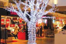 Christmas decorations - Rossodisera Events Milan