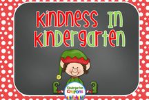 Kindness In Kindergarten / Teaching kindness at the holiday season is important. Change the focus from getting gifts to spreading kindness!
