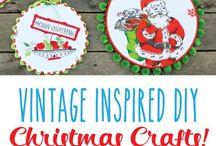Vintage craft and diy