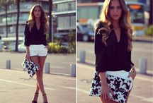Look with shorts