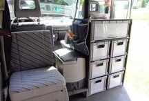 camping / bus