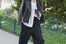 パリのファッション