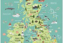 Térkép illusztrációk