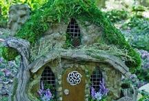 Fairy, Gnome and Hobbit Houses / by Jehna Kai