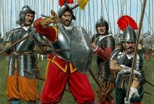 Pike and Shot Warfare / Mens wear and military equipment from the times of the 30-Years War